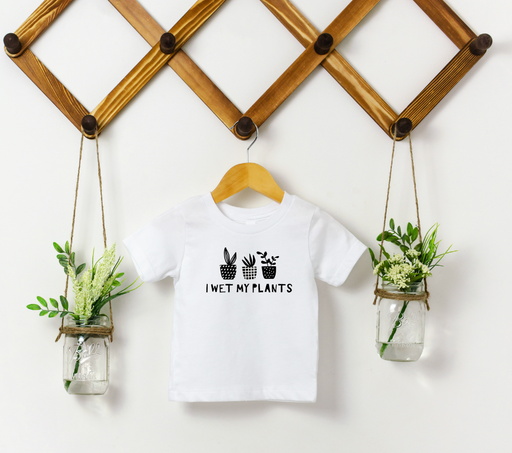 Stylish Planners Home Decor and Stylish Gifts - Wet My Plants Toddler T-Shirt