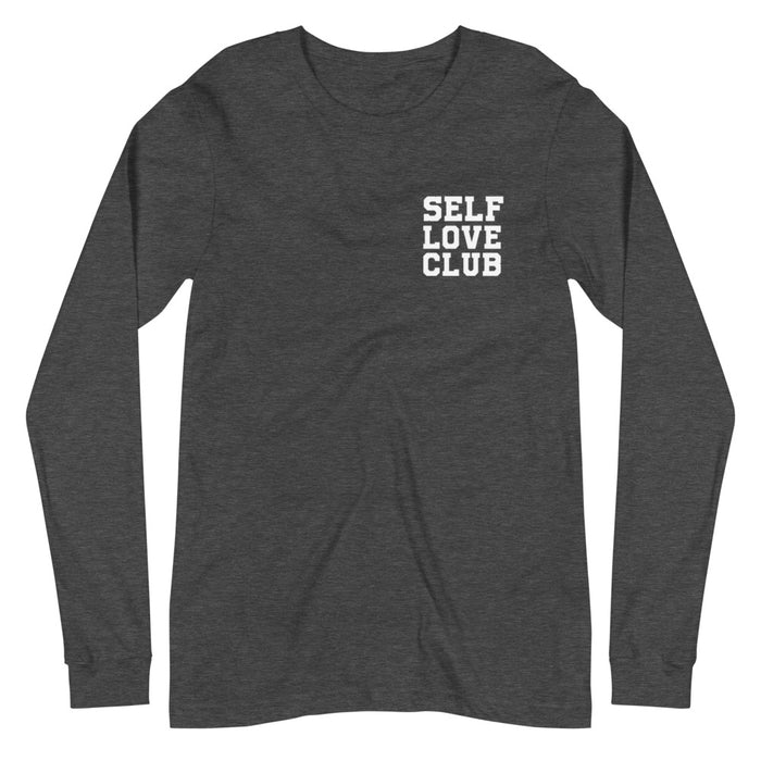 Stylish Planners Home Decor and Stylish Gifts - Self Love Long Sleeve Shirt