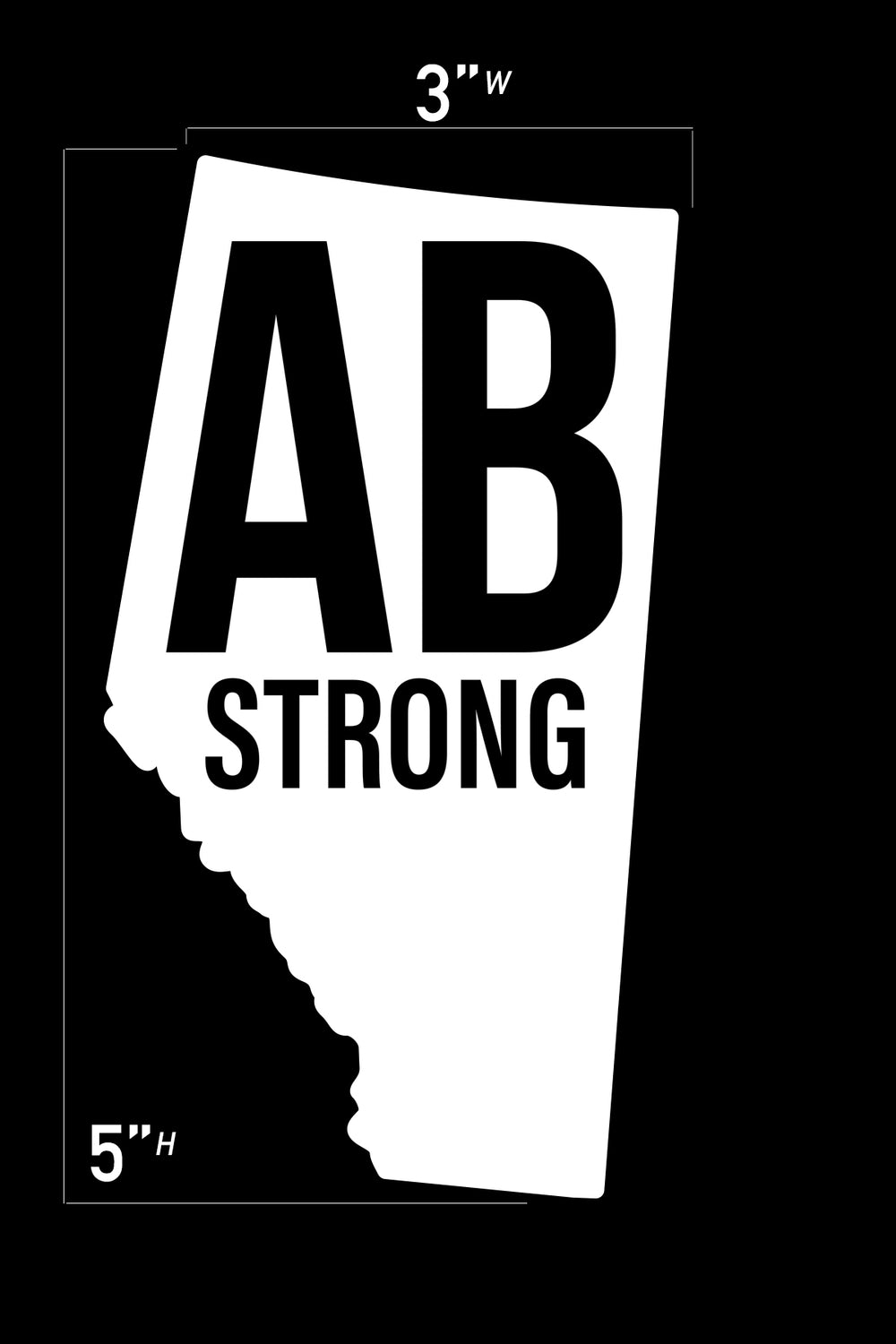 Province Strong Vehicle Decal