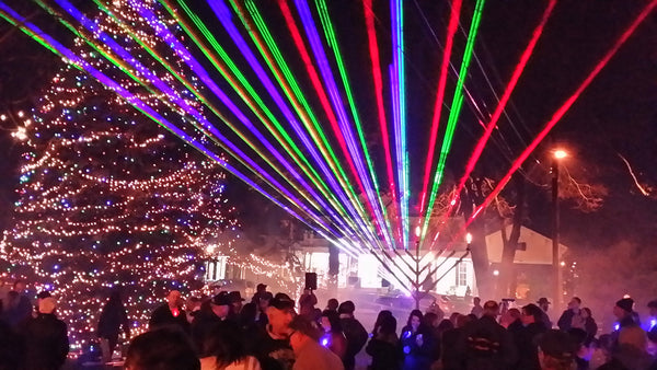 Luminance RGB Laser Light Show System 30 Watts