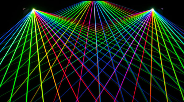Luminance RGB Laser Light Show System 22 Watts