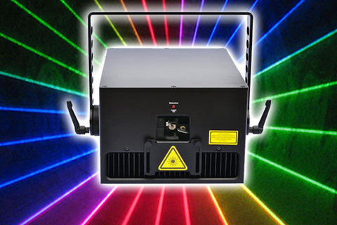Luminance RGB Laser Light Show System 11 Watts