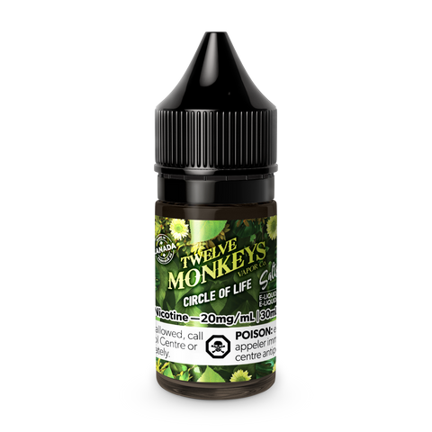 12 Monkeys: COL Salts - Circle of Life (30ml)