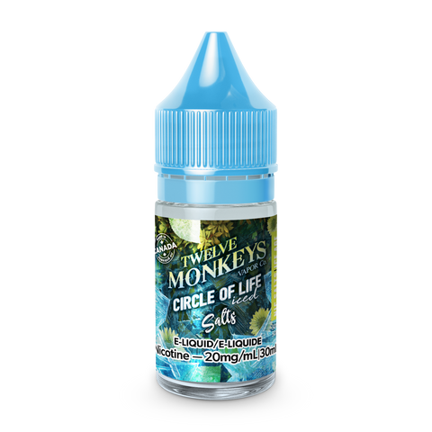 12 Monkeys: Ice Age Salts - Circle of Life Iced (30ml)