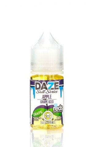 Reds Apple Grape Iced by Vape 7 Daze Salt Series (30ml)