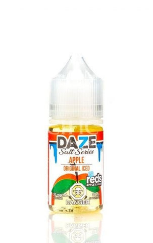 Reds Apple Iced by Vape 7 Daze Salt Series (30ml)