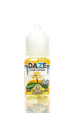Reds Apple Mango Iced by Vape 7 Daze Salt Series (30ml)