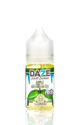 Reds Apple Watermelon Iced by Vape 7 Daze Salt Series (30ml)