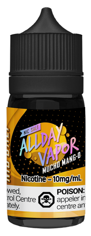 All Day Vapor Nic Salt - Mucho Mang-O (30ml)