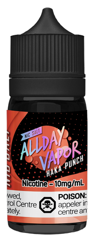 All Day Vapor Nic Salt - Haka Punch (30ml)