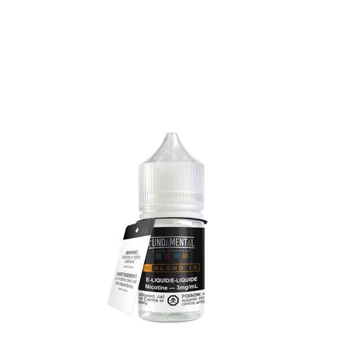 Blend 13 by Fundamental Vape Co.