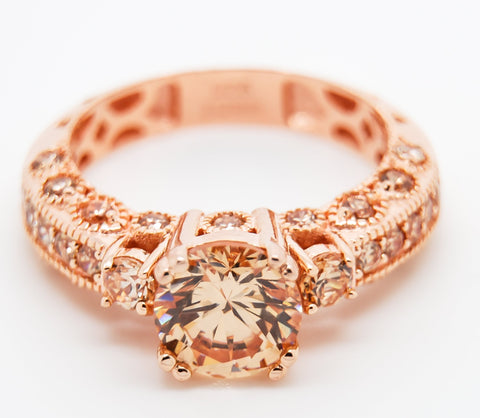 Anita Rose Gold Ring - Fine