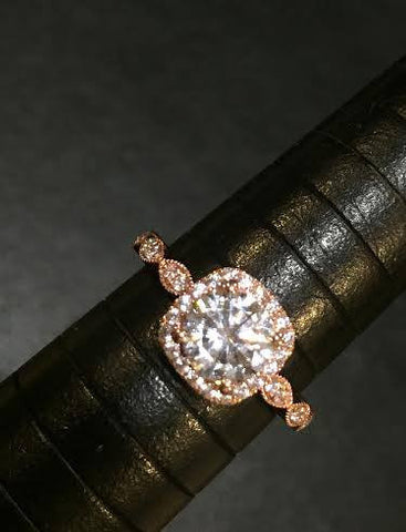 Nadia Rose Gold Ring
