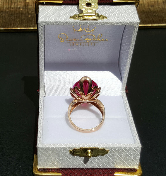 Rosa Ruby Ring - Fine