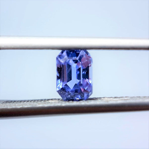 0.81ct Violet Coloured Sapphire - Loose Gem