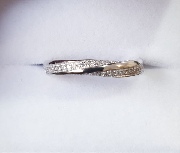 Angel Twist Band Ring