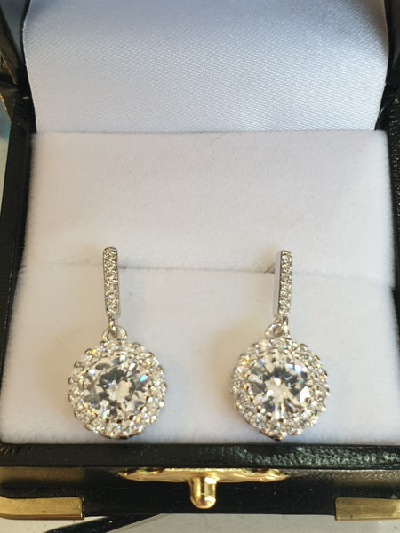 Maria Classic Drop Earrings