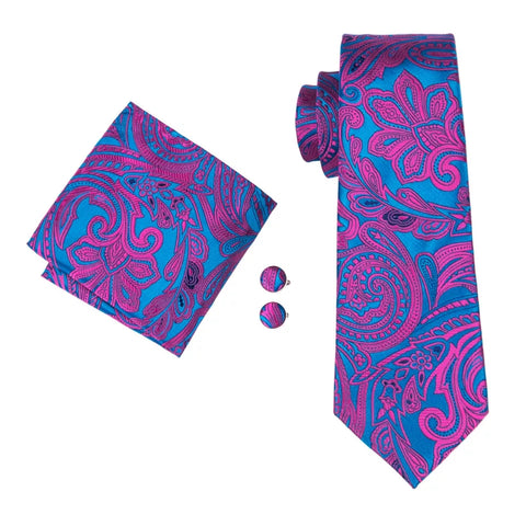 Luxury Silk Tie Set - 5