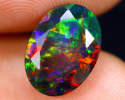 1.92ct Natural Faceted Smoked Opal