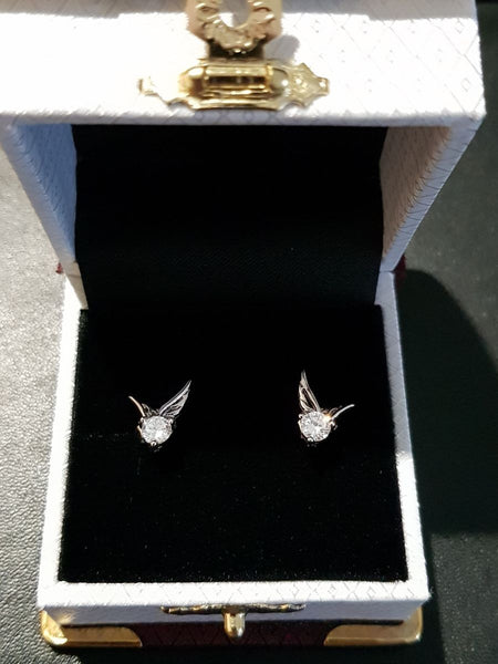 Angel on Board Earrings