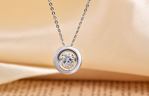 Circle of Life Dancing Pendant