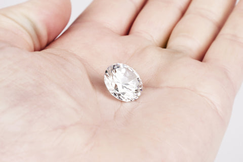 Round Brilliant Valerian™ Moissanite Loose Stone