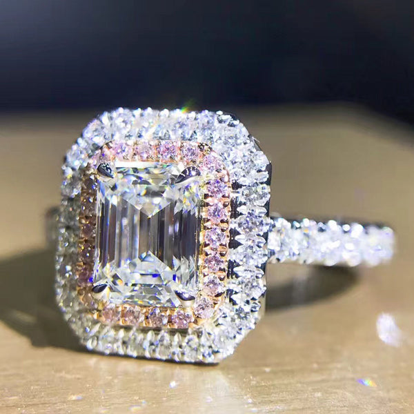 Angelica Emerald Cut Ring
