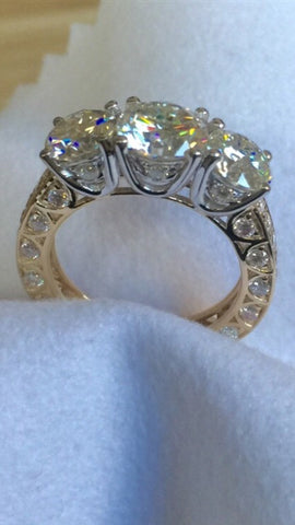 Guinevere Trilogy Ring - Fine