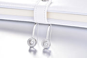 Halo Drop Aurora Dancing Earrings