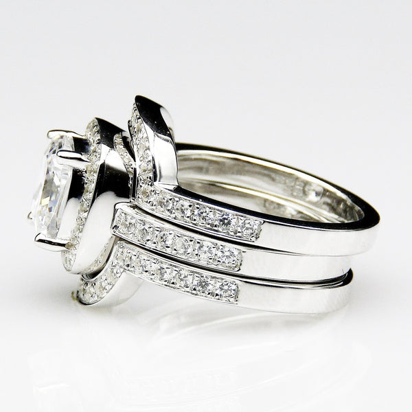 Alexis Ring Set - Silver