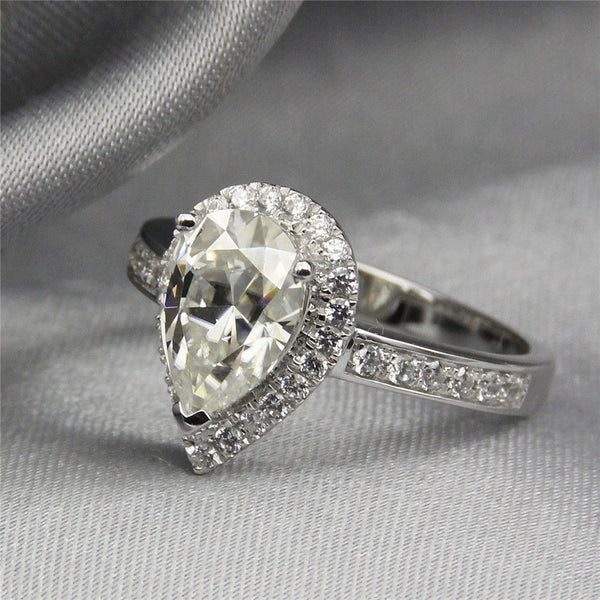 Audrina Pear Ring