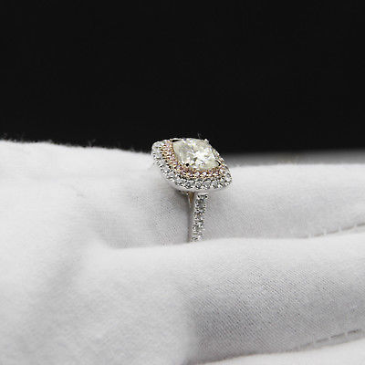 Haylee Cushion Cut Ring