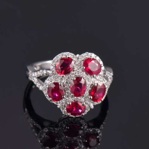 Ruby and Diamond Cluster