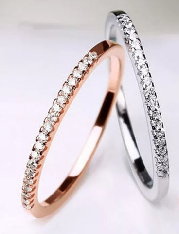 Pave Stacker Ring