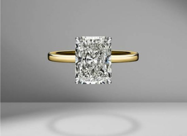 Radiant Cut Solitaire