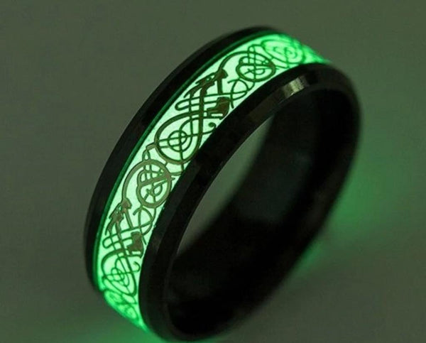 Glowing Dragon Ring