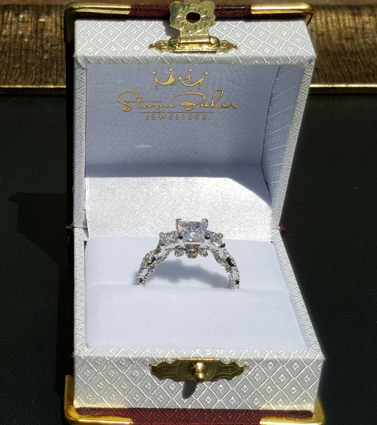 Valentina Trilogy Ring - Gold