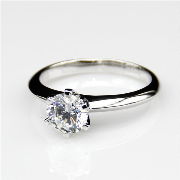 Six Claw Solitaire Ring - Fine