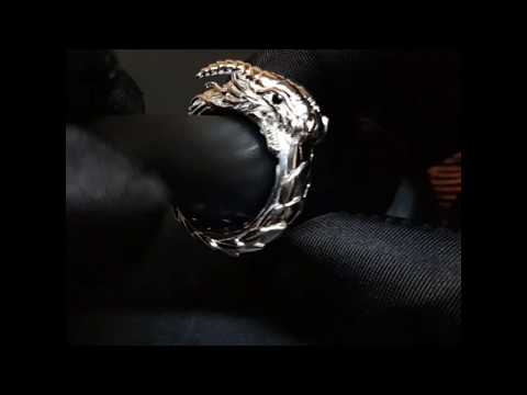 Ouroboros Dragon Ring - Fine