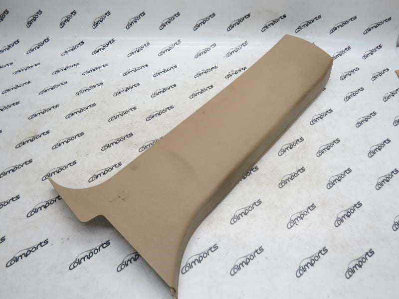 00 01 02 03 BMW X5 B pillar cover lower left beige