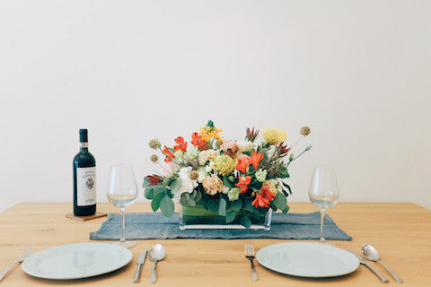Table Centerpiece (Low Vase) - Standard