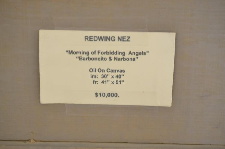 Redwing Nez Navajo Original Signed Oil Painting