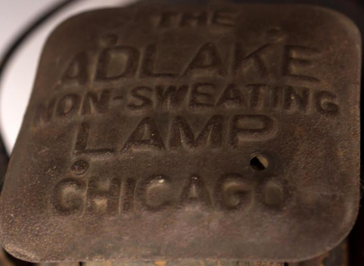 Adlake Non-Sweating Chicago Railroad Lantern