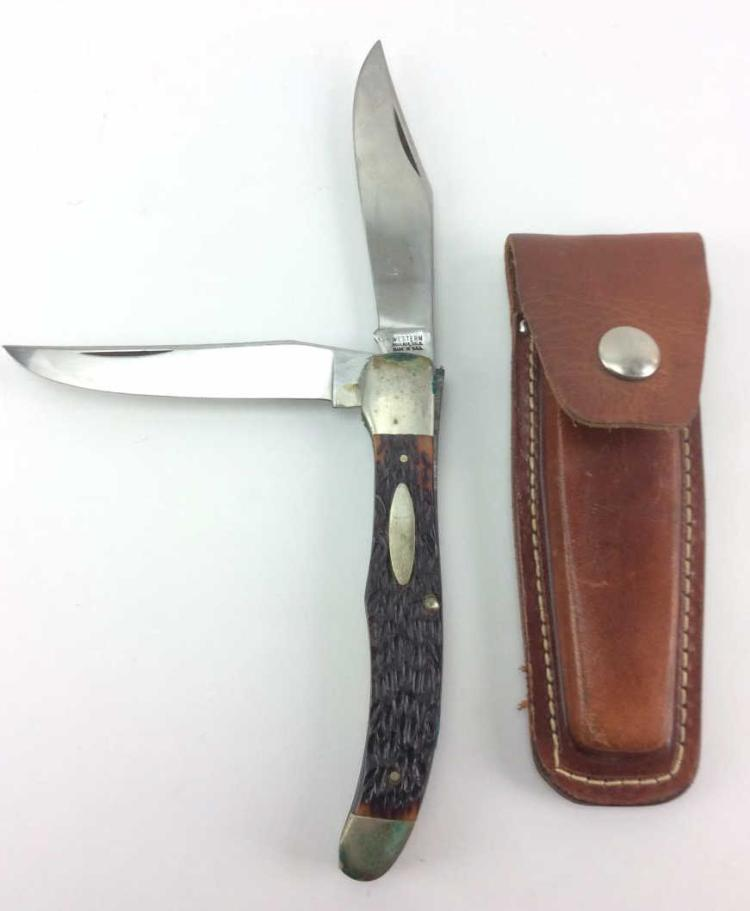 Model 062 Western Double Blade Pocket Knife