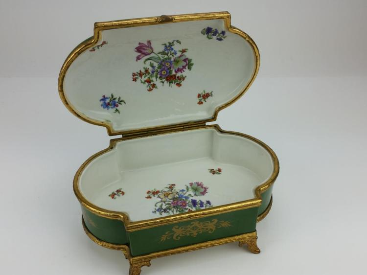 Antique Chateau De Tuileries Dresser Box