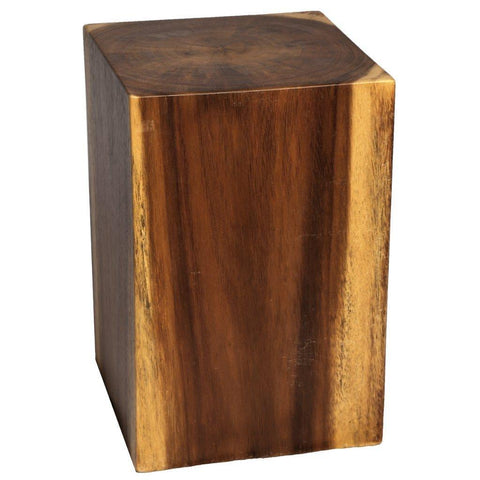 Solid Acacia Wood Side Table
