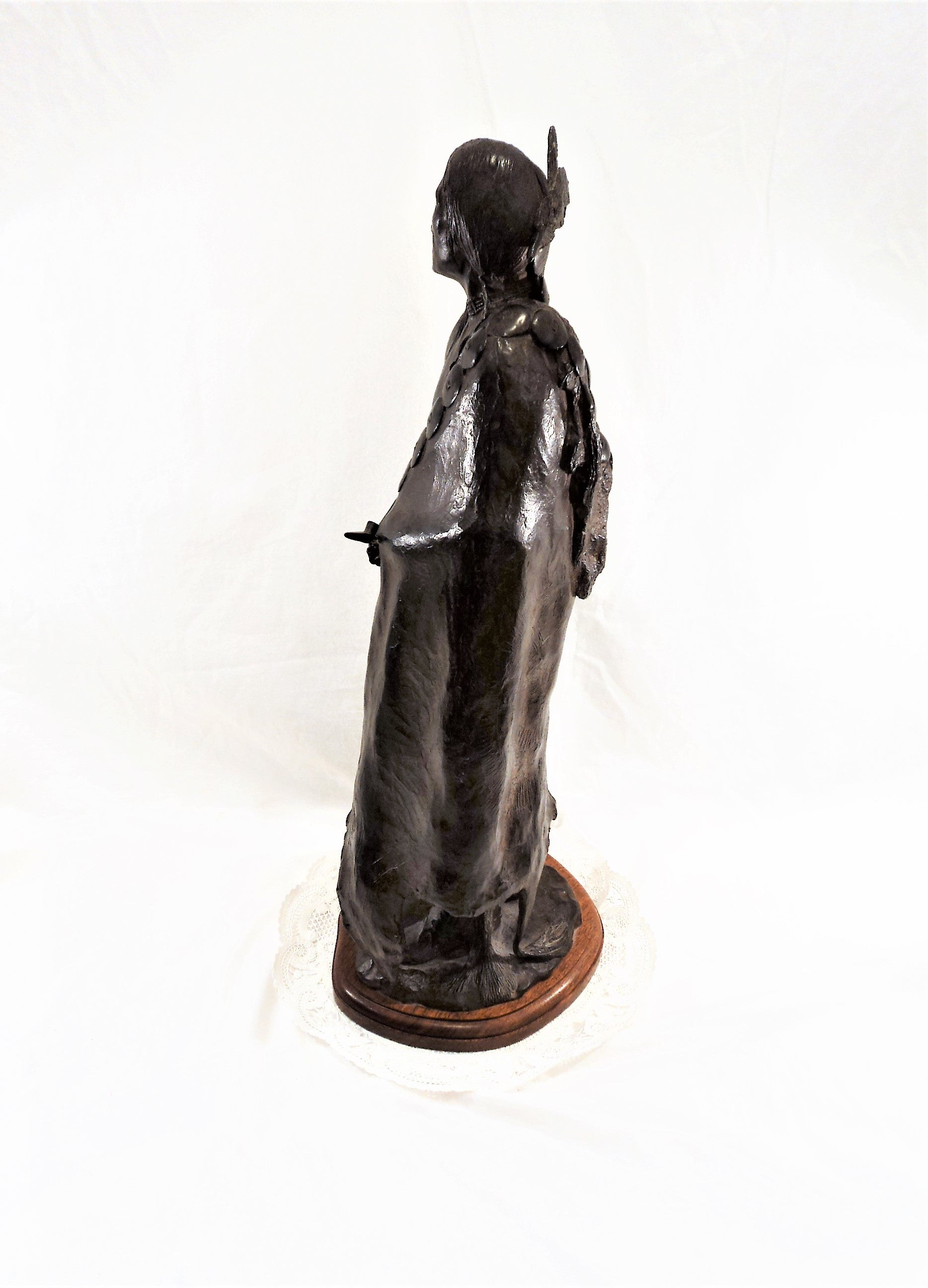 Signed Limited Edition Bronze Sculpture