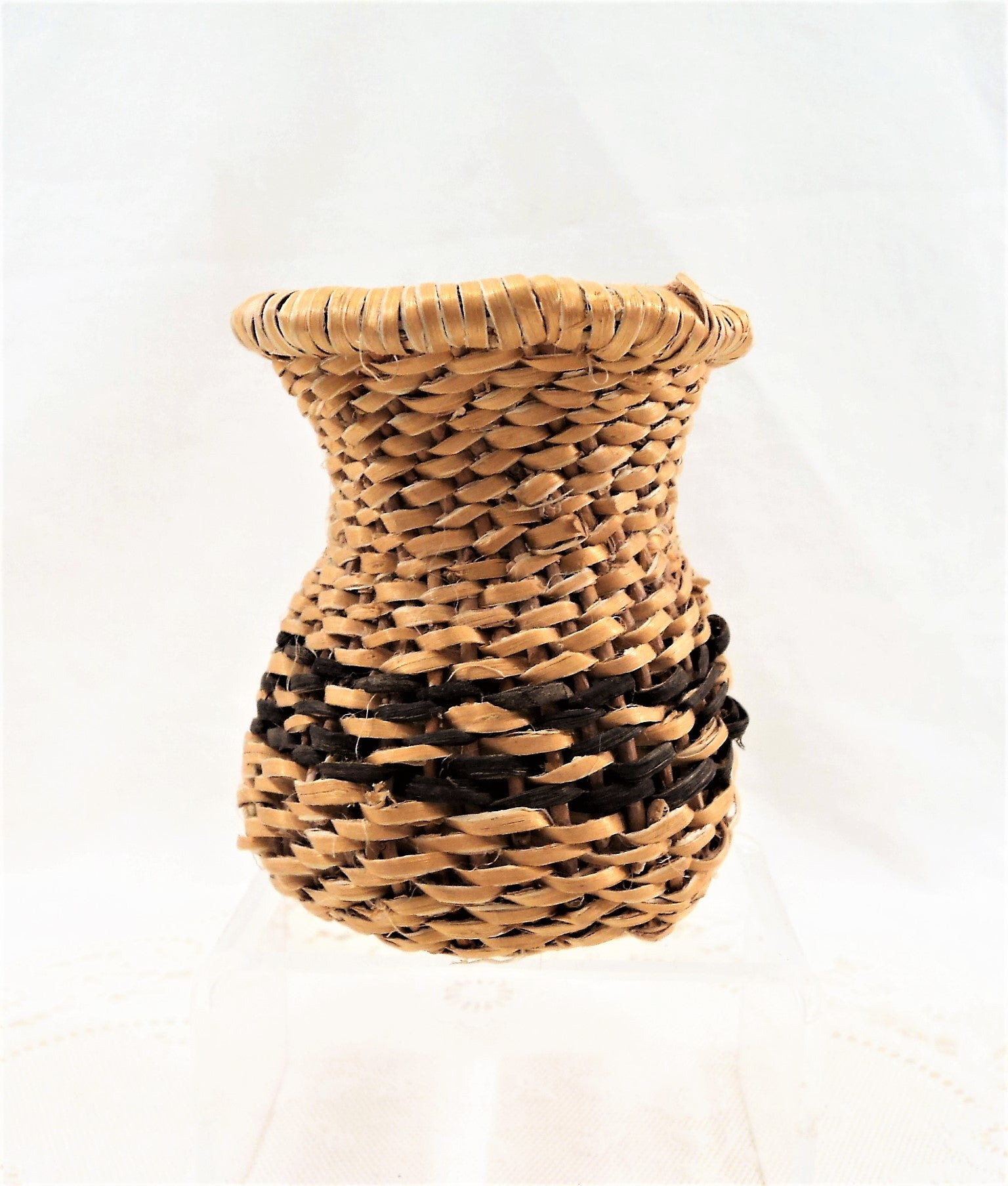 Native American Hand-woven Basket