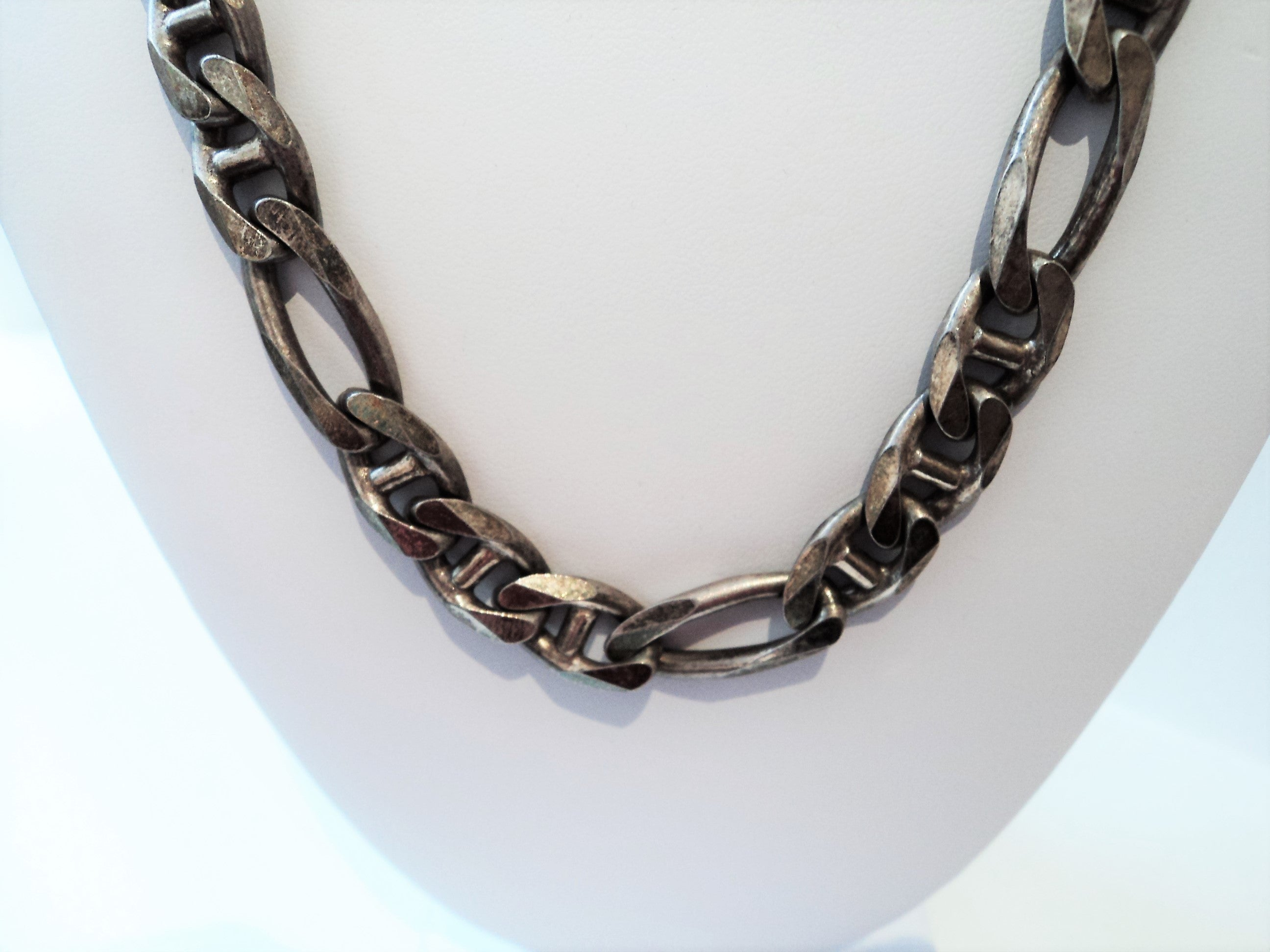 Vintage Sterling Silver Italian Necklace