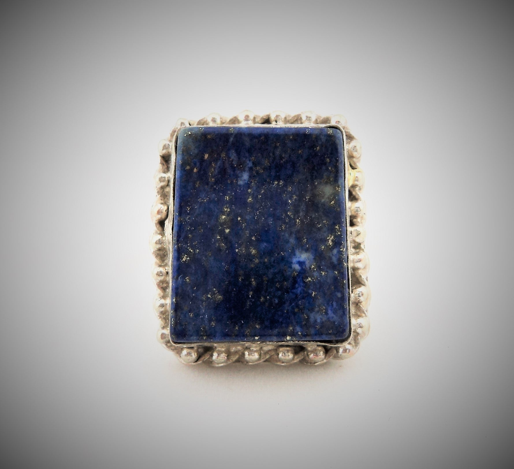 Sterling Silver and Lapiz Lazuli Ring